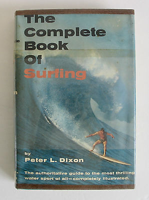 Rare Vintage 1965 The Complete Book Of Surfing Hard Cover Book 1st First Edition