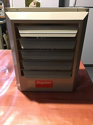 Dayton Electric Heater,480 Volts,5.0 kW, 3 Phase - 2YU63