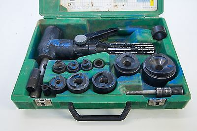 Greenlee Knockout Punch Driver Hydraulic Set 7904E