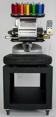 4 Amaya 16 Color Industrial Commercial Embroidery Machines & Pro Design Software