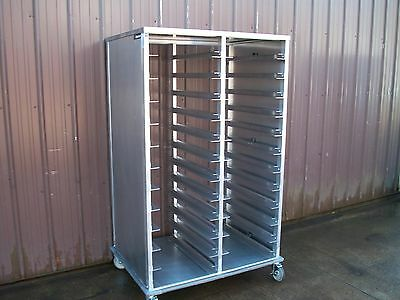 New Cres Cor Double Bussing Or Transport Banquet Roll In Utility Rack 22131824B