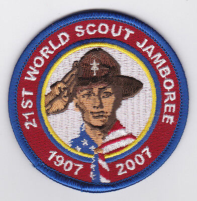 2007 World Scout Jamboree USA BOY SCOUTS OF AMERICA (BSA) POCKET PATCH