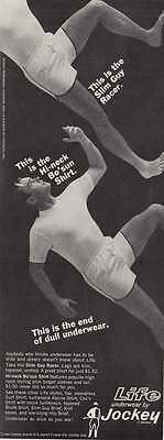1967 Jockey Underwear: Slim Racer Guy, Hi-Neck Bo Sun  (17727)