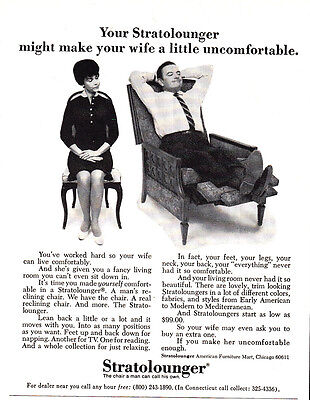 1967 Stratolounger: Make Your Wife a Little Uncomfortable (23187)