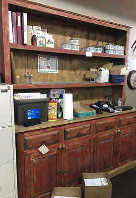 Large Southwestern Mexican Style Hutch Lot 211B