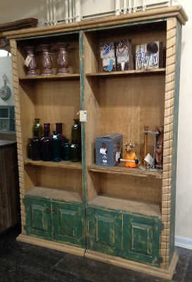 Large Rustic Mexican Style Bookcase Lot 143