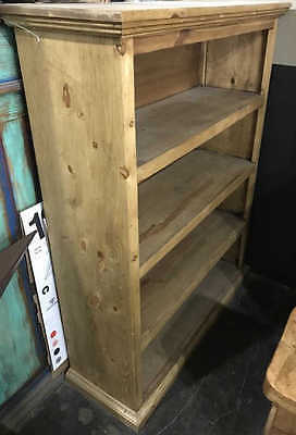 Small Rustic Style Bookcase Lot 71