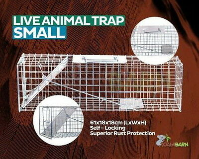 Live Cage Humane Animal Trap SMALL