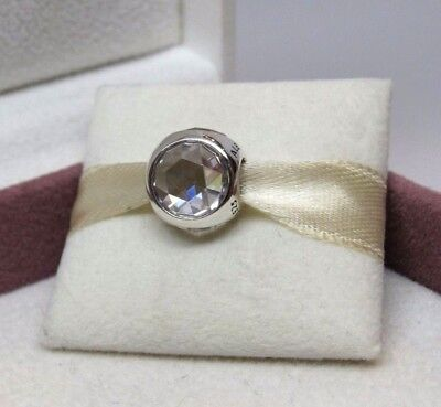15dad8ff1 AUTHENTIC PANDORA RADIANT Droplet Clear Charm W/ Pandora TAG & BOX ...