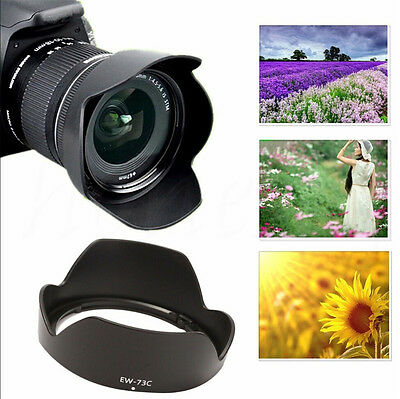New Lens Hood FOR Canon EF-S 10-18mm f/4.5-5.6 IS STM Lens replaces EW-73C
