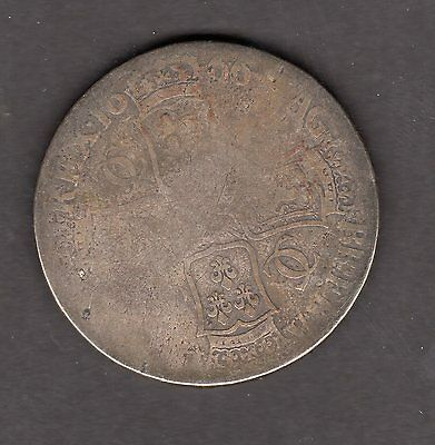 Great Britain 1666 1 Crown Coin - Nice Coin!