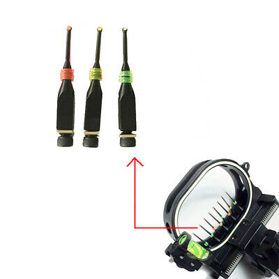 """3 Pack Archery 0.019"""" Fiber Optics Bow Sight Pin Replacement  for compound bow"""