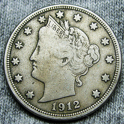 1912-D Liberty V Nickel --- NICE --- #N128
