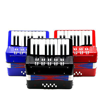 New Type 17Treble Buttons Keys 8 Bass Buttons  Piano Accordion For Kids/Beginner