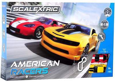 Scalextric 1:32 American Racers Slot Car Set (C1364)