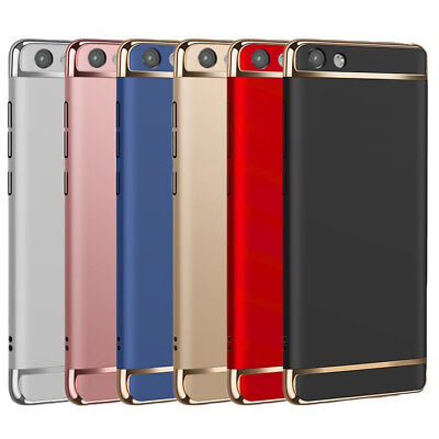 3in1 Electroplating Stylish Protective Case Cover For Oppo R9 | R9S | R9S Plus