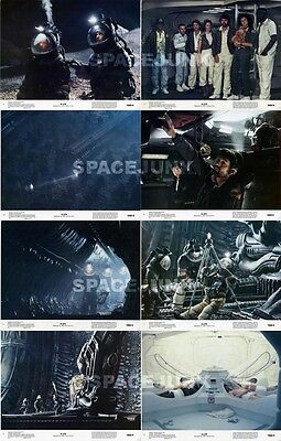ALIEN (1979) U.S. Lobby Cards Complete Set of 8 (8 x 10 Inches)