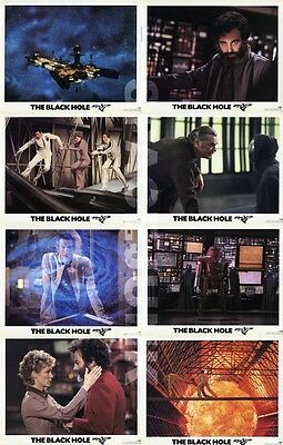 THE BLACK HOLE (1979) U.S. Lobby Cards Complete Set of 8 (8 x 10 Inches)