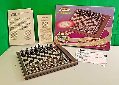 Vintage electronic computer chess - systema PIONEER - Complete (c5)