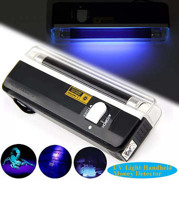 Black Light Hand Held UV Lamp
