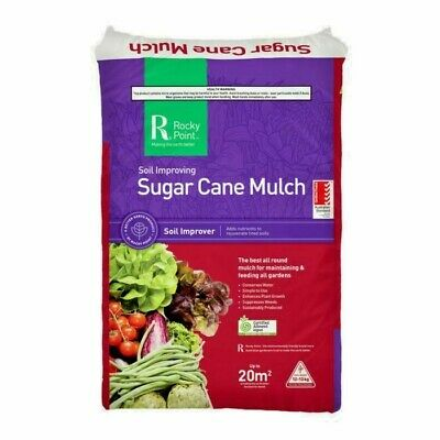 Sugar Cane Mulch - Rocky Point