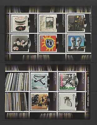 GB 2010 Classic Album Covers 2nd Issue (10) SG3009/18 FP6552