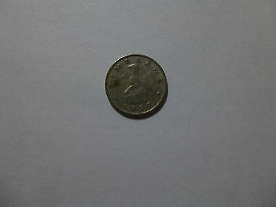 Old Zimbabwe Coin - 1997 10 Cents - Circulated