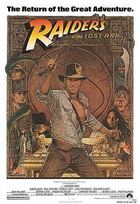 Raiders of the Lost Ark 35mm Film Cell strip very Rare var_r