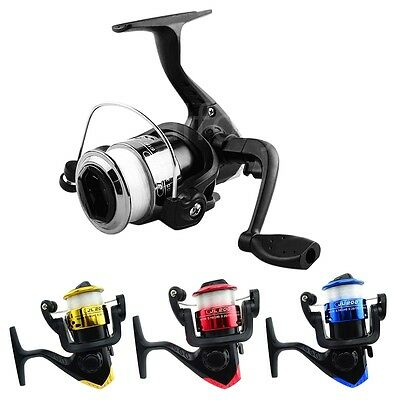 JL200 3BB Two-tone Mini Fishing Spinning Reel With 50M Transparent Line