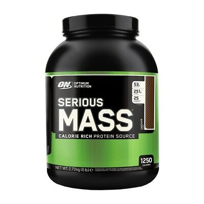 Serious Mass 6 lbs (2721g) - Optimum Nutrition - Gainer, Ganador de peso