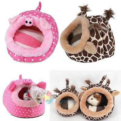 Small Pet Nest Mice Hamster Bed Hammock Rat Squirrel Chinchilla Cage Toy House
