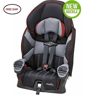 Evenflo Maestro Harnessed Booster Car Seat, Wesley NEW FREE SHIP