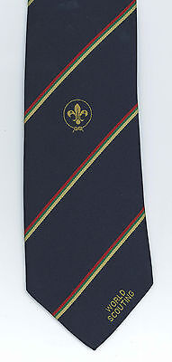 ASIA PACIFIC SCOUTS REGION - APR Scout Leader & Commissioner Official BLUE TIE