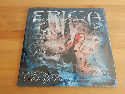 EPICA - Divine Conspiracy 2LP Picture Disc FIRST PRESS 2007  SEALED Nightwish