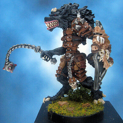 Painted Chainmail Miniature Gnoll Adept