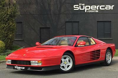 Ferrari Testarossa 138 Miles Only. For Sale