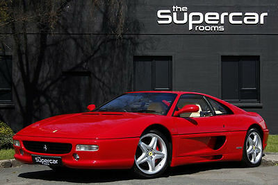 Ferrari F355 GTB F1 1999 in Immaculate Condition Right Hand Drive Low Mileage