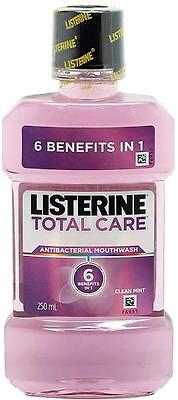 2 x Listerine total care mouthwash 250mll