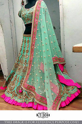 Traditional Lehenga Choli Wedding Partywear Designer Charming Ghagra Choli 2041