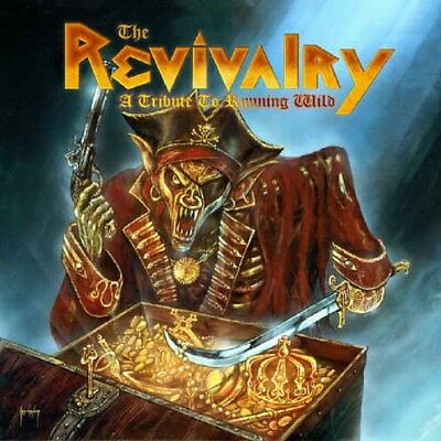 VARIOUS ARTISTS - The Revivalry - A Tribute To Running Wild HEAVY 2 CD'S