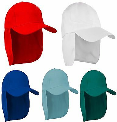 Junior legionnaire Style Baseball Cap Boy Girl Children Sun Hat Protection Child