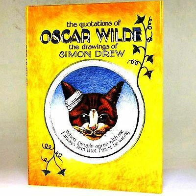 Oscar Wilde Illustrated Quotations by Simon Drew