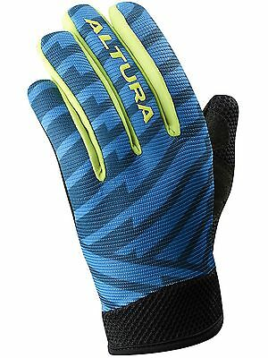 Altura Team Blue-Teal Spark 2 Kids MTB Gloves