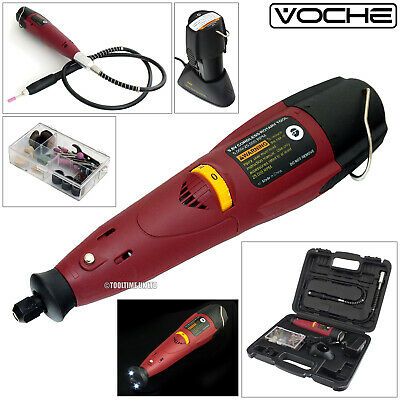 Voche 70Pc Cordless Rechargeable Multi-Speed Mini Rotary Drill + Flexi  + Case