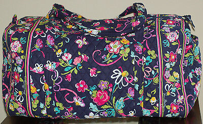 Vera Bradley RIBBONS LARGE DUFFEL Travel Bag NWT