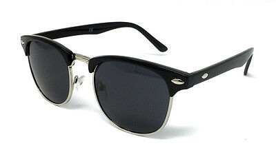 KIDS Clubmaster Sunglasses Boys Girls Retro Shades UV400 Mirrored Cool Childs