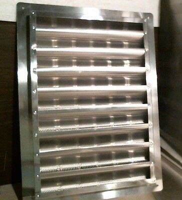 "Air Vent 81112 Aluminum Wall End Louver, 12"" X 18"" , FREE SHIPPING"