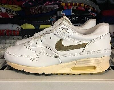 Vintage Nike Air Max 1 Leather SC White Ds  Air Max 90 1993