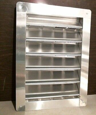 "Air Vent RL812000 Aluminum Wall End Louver, 8"" X 12"" , FREE SHIPPING"