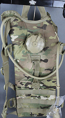 US Military Hydramax Molle II Carrier Hydration System Multicam Eagle Ind. Rare